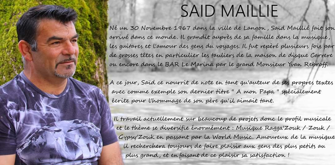 said maillie - Le label